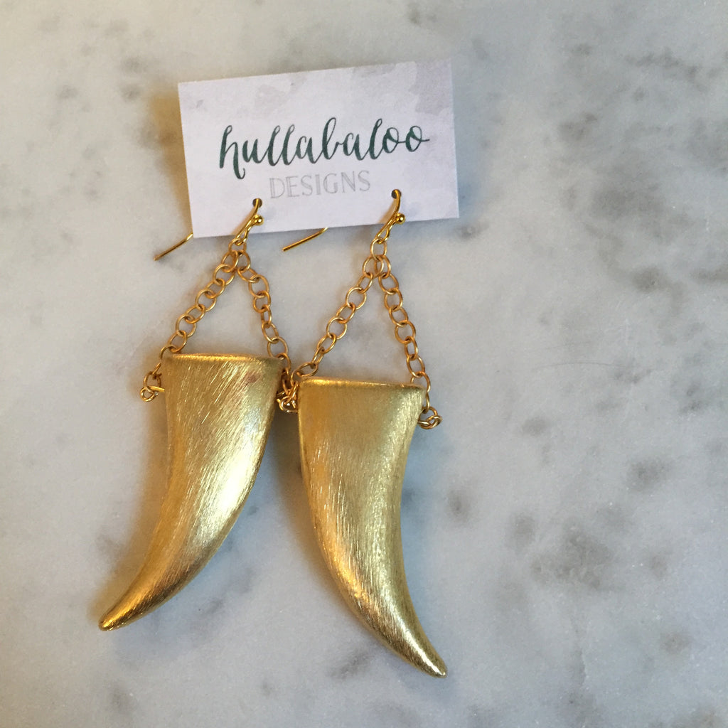 Trina Tusk Earrings