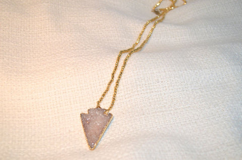 Abby Arrowhead Necklace