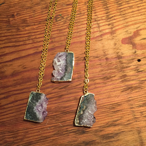 Alix Amethyst Necklace