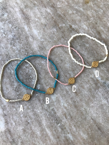 Bess Bitty Coin Bracelet