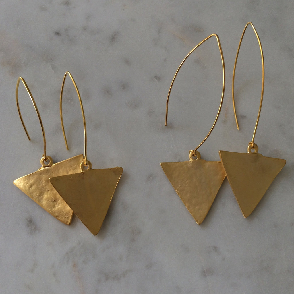 Tilly Triangle Earrings