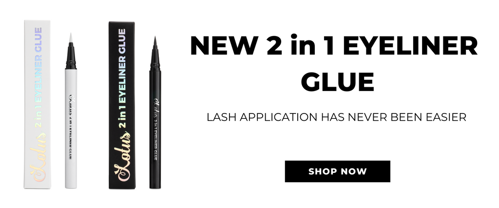 2 in 1 eyeliner glue mink lashes faux mink lashes lotus lashes