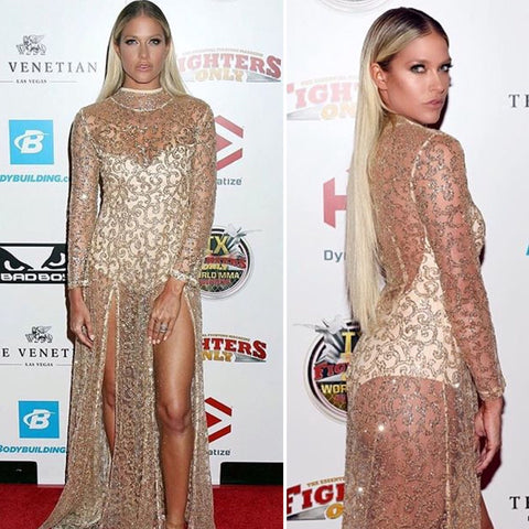 Barbie Blank Souray at The MMA Awards Wearing No. 504: Makeup by Sarah Redzikowski