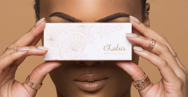false eyelashes clear band or black band what's the difference? lotus lashes