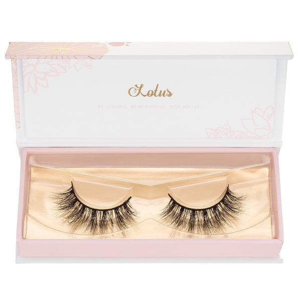 the perfect lotus lashes for your eye shape no. 99 3d mink lashes