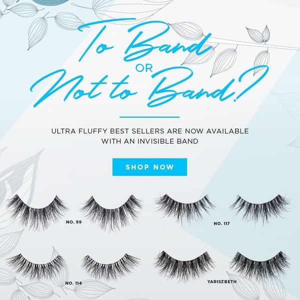 best selling lotus mink lashes now available with an invisible band