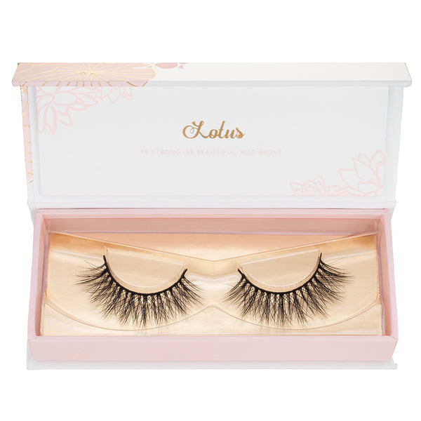 REAL mink vs faux mink lashes lotus lashes