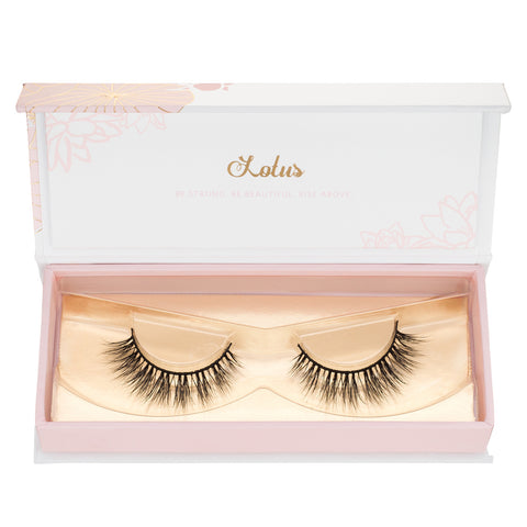 a beautiful natural mink lash for every occasion lotus lashes