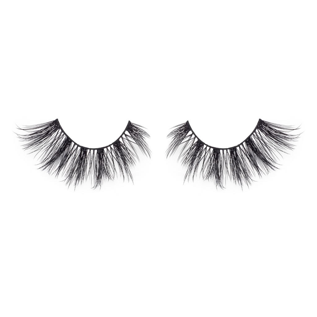 bombshell spellbound 25mm faux mink lashes false eyelashes lotus lashes
