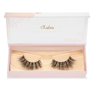 1,000 mink lashes false eyelashes lotus lashes in packaging