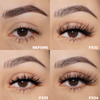 the bali set faux mink lashes false eyelashes lotus lashes before and after