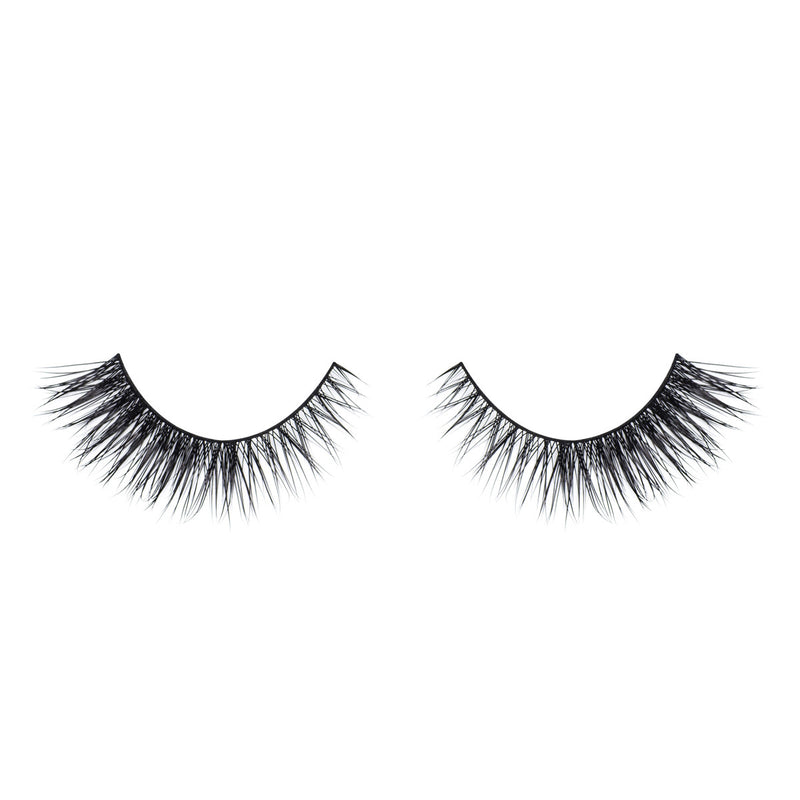 no. 75 mink lashes luxury lashes lotus lashes medium volume front