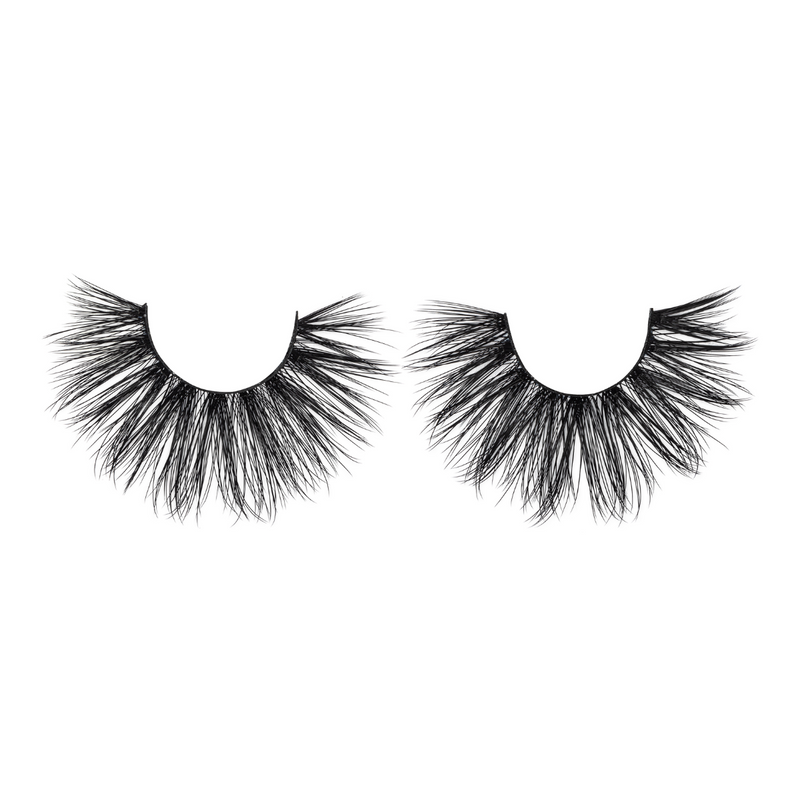 lady lux bombshell 25mm faux mink lashes false eyelashes lotus lashes