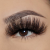 afterglow 25mm savage mink lashes false eyelashes swatch