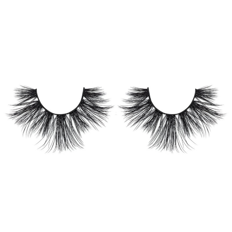 hourglass bombshell 25mm faux mink lashes false eyelashes lotus lashes