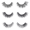 the shorty set faux mink lashes false eyelashes lotus lashes out of packaging
