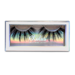 bombshell spellbound 25mm faux mink lashes false eyelashes lotus lashes package