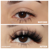 afterglow clout 3d mink lashes false eyelashes lotus lashes before after