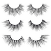 the bali set faux mink lashes false eyelashes lotus lashes out of packaging