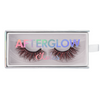 red dragon colored mink lashes afterglow red mink lashes false eyelashes lotus lashes package