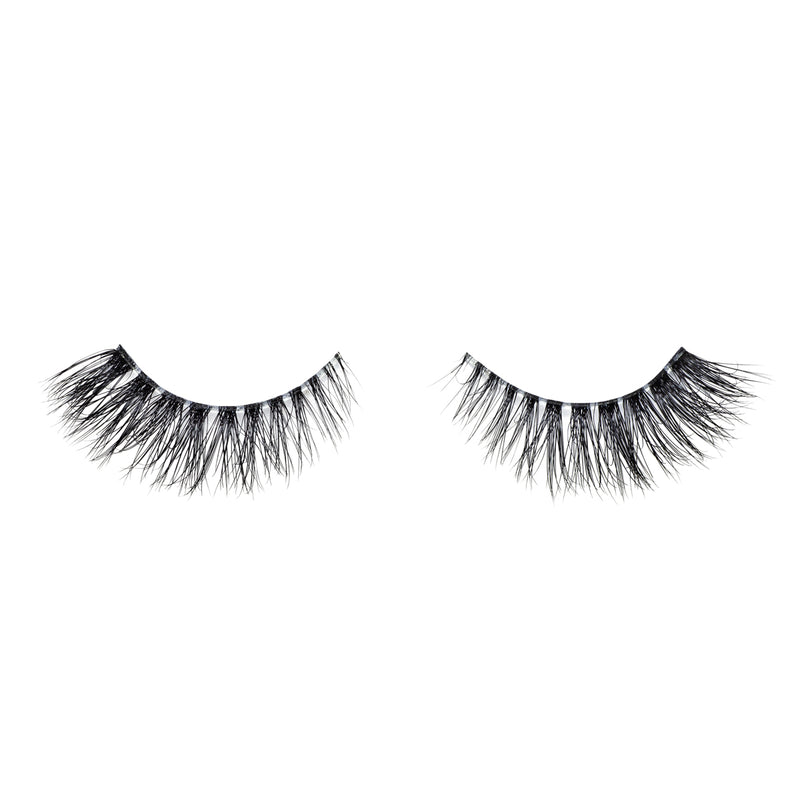 No. 501 LITE out of packaging lotus lashes 3d bandless mink lashes