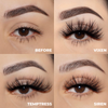 lotus lashes ain't so basic faux mink lashes bundle false eyelashes swatches