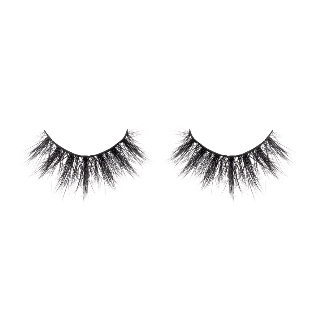 amaze 3d mink lashes false eyelashes afterglow lotus lashes out of packaging