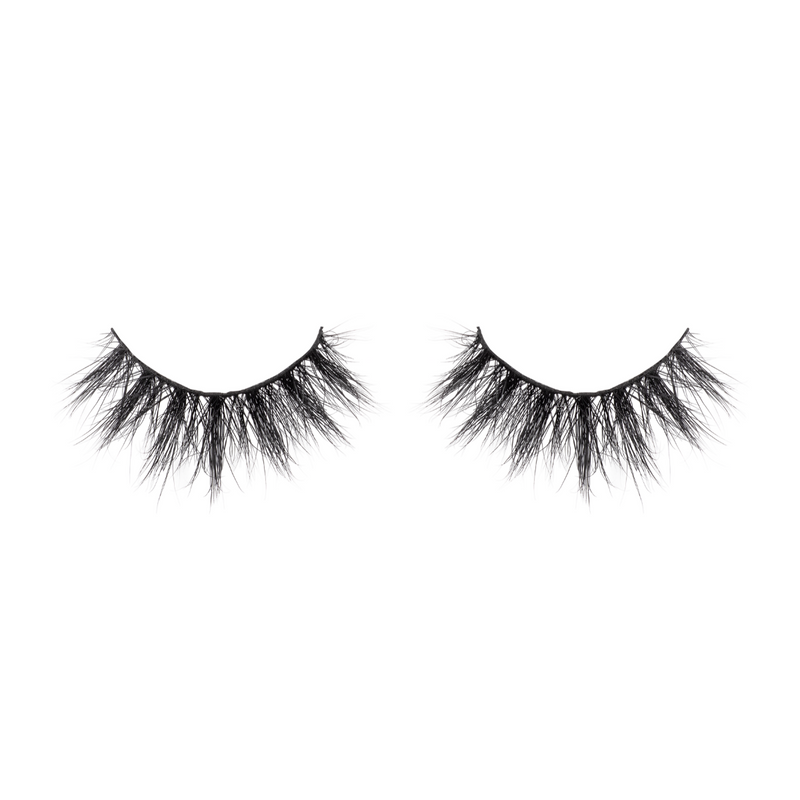 amaze 3d mink lashes false eyelashes afterglow lotus lashes close up