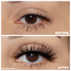 No. FX1 faux mink lashes vegan lotus lashes before and after