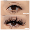 No. FX21 faux mink lashes false eyelashes lotus lashes before and after