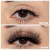 No. FX24 faux mink lashes false eyelashes lotus lashes before and after