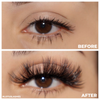 No. FX2 faux mink lashes vegan lotus lashes before and after