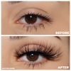 No. FX34 faux mink lashes false eyelashes lotus lashes before and after