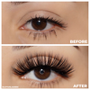 No. FX5 faux mink lashes vegan lotus lashes before and after