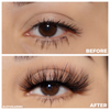 heartbreaker faux mink lashes 25 mm false eyelashes vegan before and after