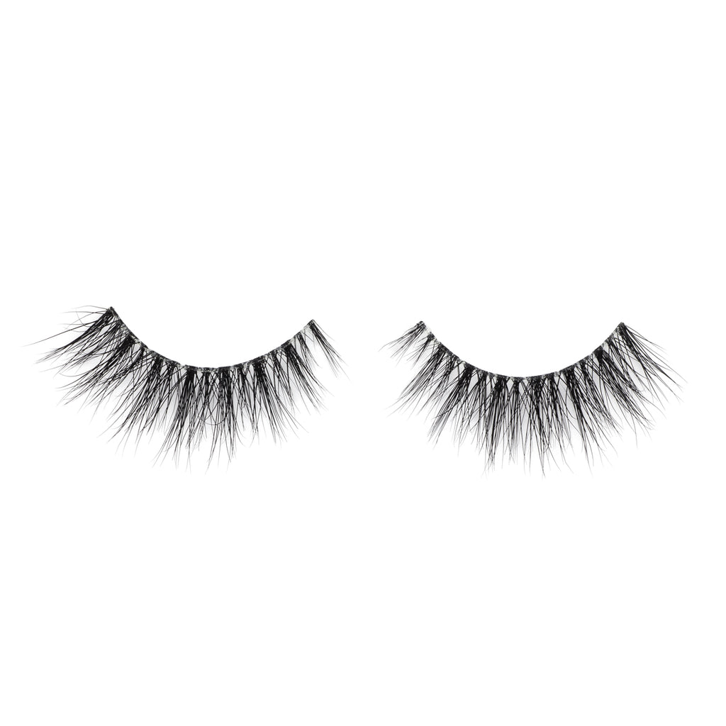 baby love mink lashes false eyelashes lotus lashes out of packaging