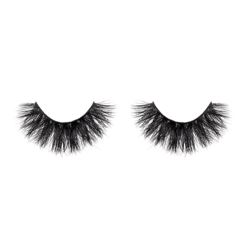 d-luxe mink lashes false eyelashes afterglow lotus lashes out of packaging