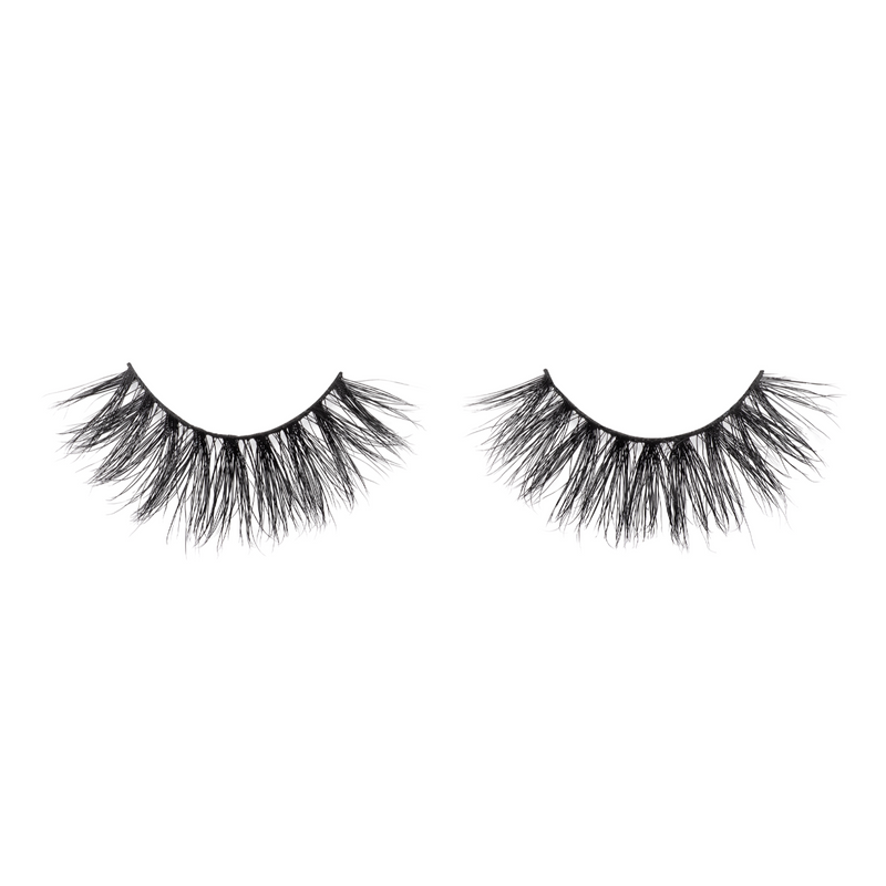 finesse 3d mink lashes false eyelashes afterglow lotus lashes out of packaging