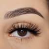 No. FX1 faux mink lashes vegan lotus lashes close up