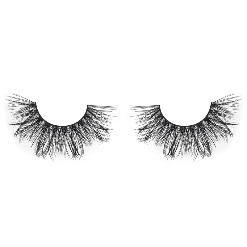 No. FX2 faux mink lashes vegan lotus lashes close up