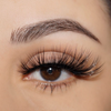 No. FX34 faux mink lashes false eyelashes lotus lashes close up