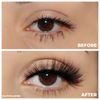 fx36 faux mink lashes false eyelashes lotus lashes before and after