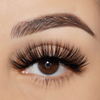 No. FX5 faux mink lashes vegan lotus lashes close up