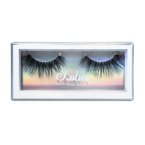 No. FX6 faux mink lashes vegan lotus lashes in packaging