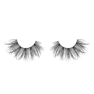 heartbreaker faux mink lashes 25 mm false eyelashes vegan out of packaging