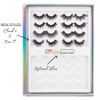 lotus lashes lashdrobe palette vol 01 faux mink lashes false eyelashes lash book inside