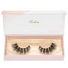 no. 47 3D clear band mink lashes luxury lashes lotus lashes bandless in packaging