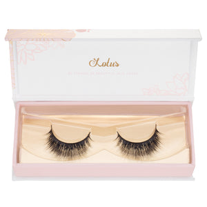 no. 1 mink lashes luxury lashes lotus lashes packaging