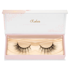 no. 117 3D mink lashes luxury lashes lotus lashes in packaging