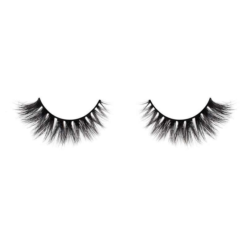 no. 501 3D mink lashes luxury lashes lotus lashes v pattern winged front